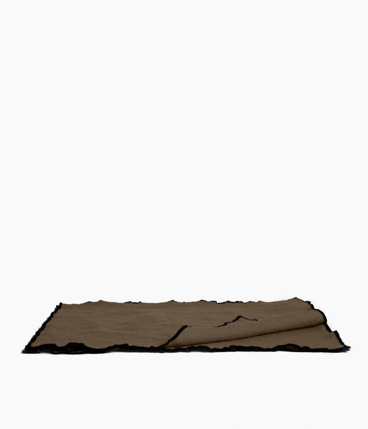 Set de table 35 x 45 cm en Lin lavé - Brownie