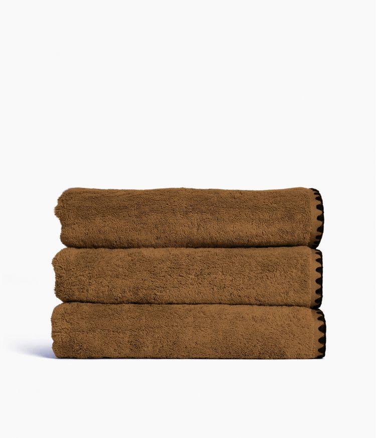 Drap de bain 90 x 140 cm en Coton - Brownie