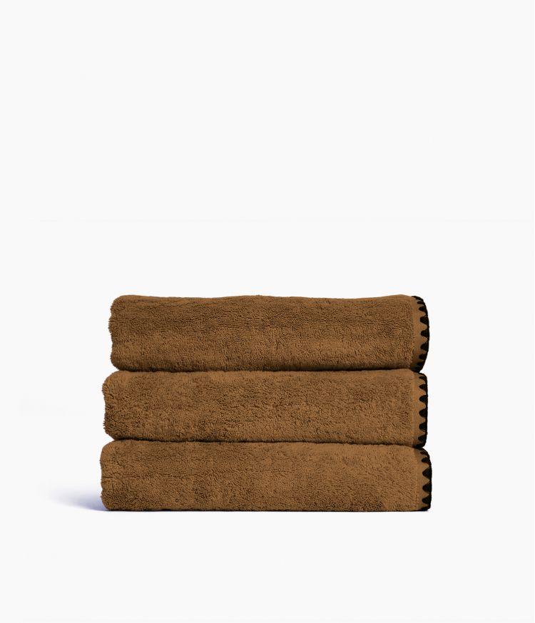 Serviette de bain 70 x 130 cm en Coton - Brownie