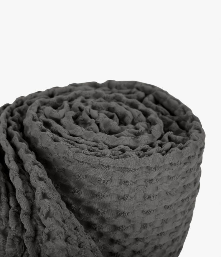 Couvre lit 240 x 260 cm en Coton - Granit