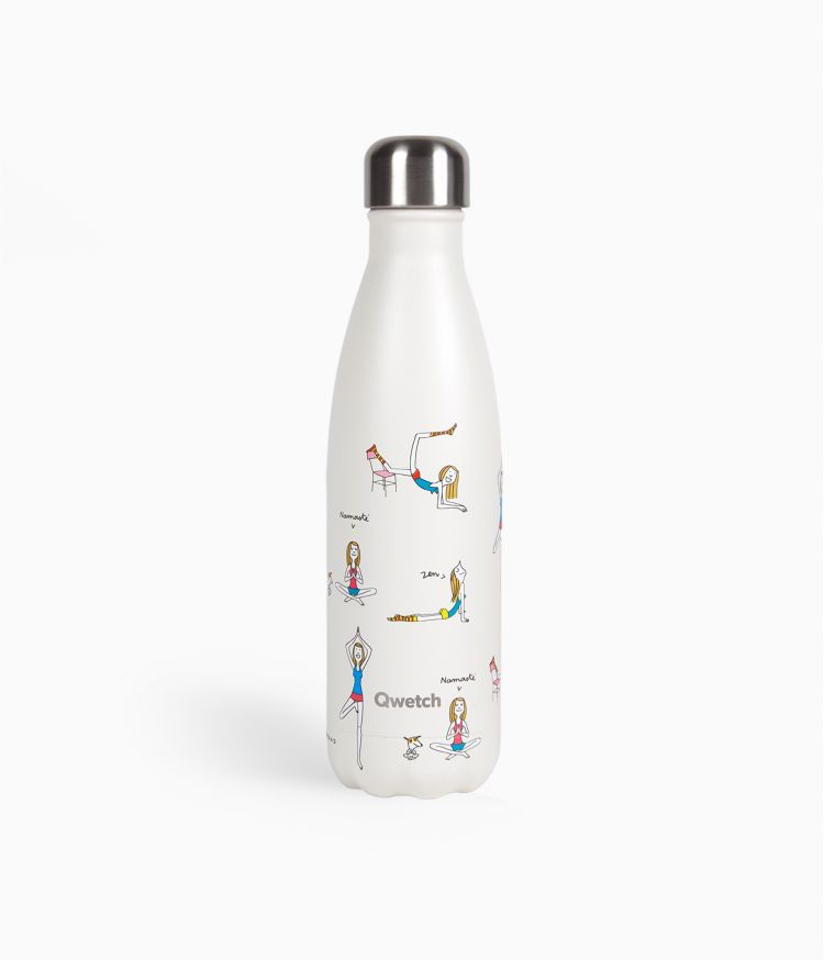 Bouteille isotherme 500ml - Yoga by Soledad