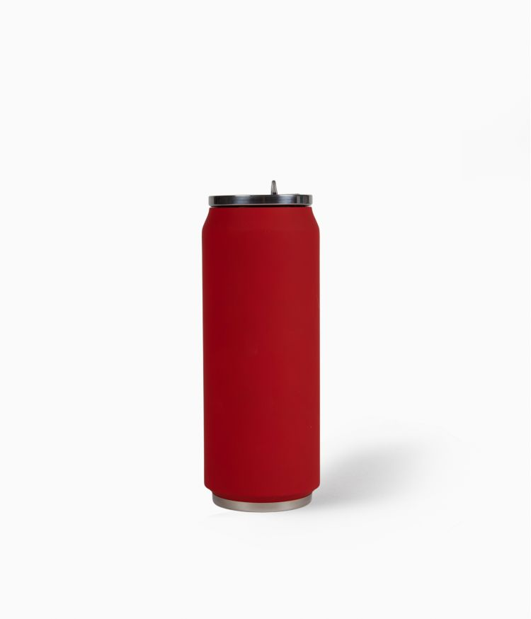 Canette isotherme 500ml - Soft Red