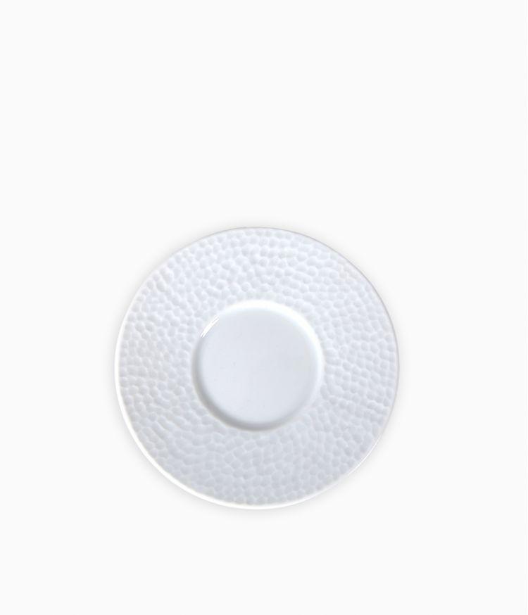 Soucoupe en Porcelaine blanche