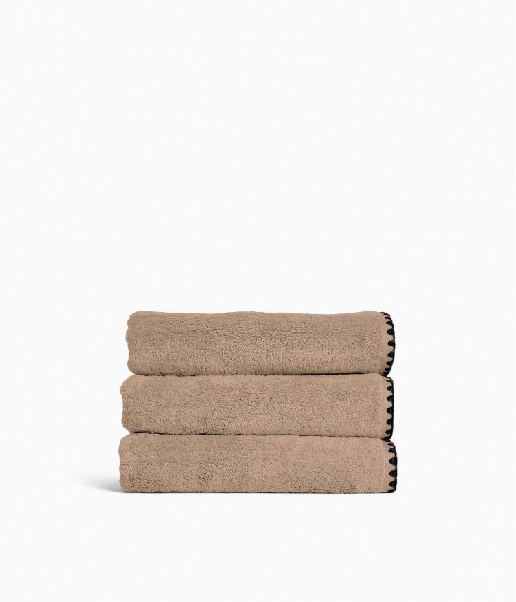 Serviette de bain  50 x 100 cm en Coton - Lin