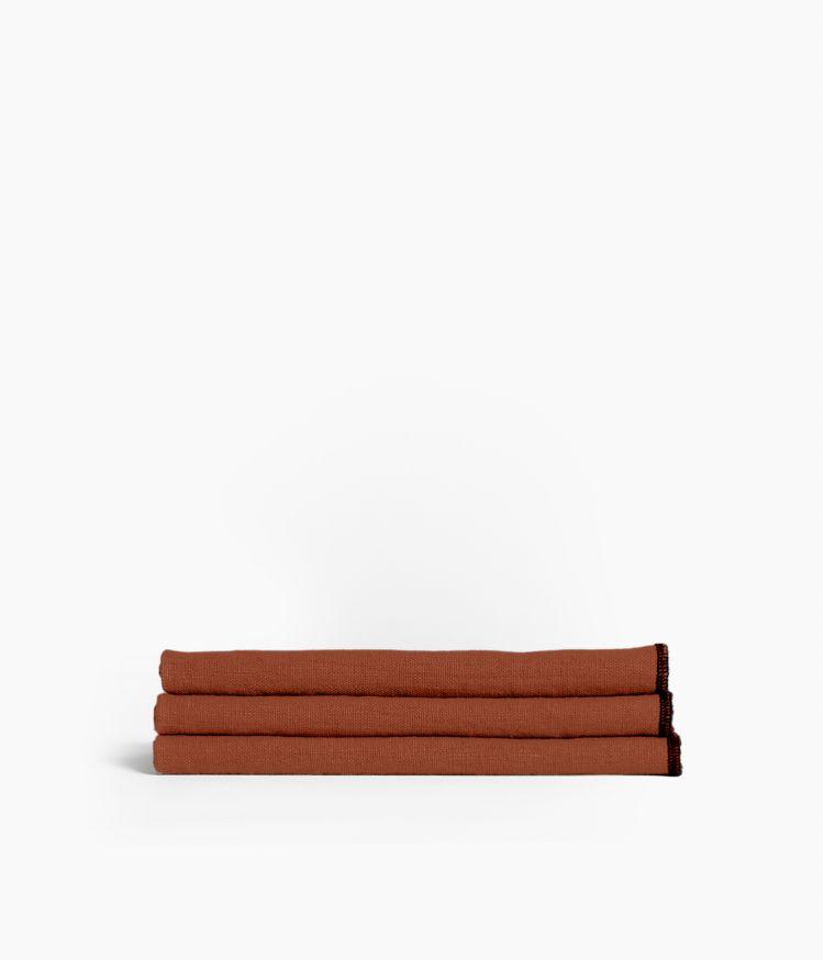 serviette de table 41*41 brick
