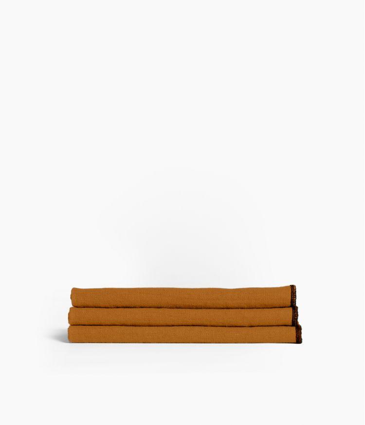 serviette de table 41*41 chamois