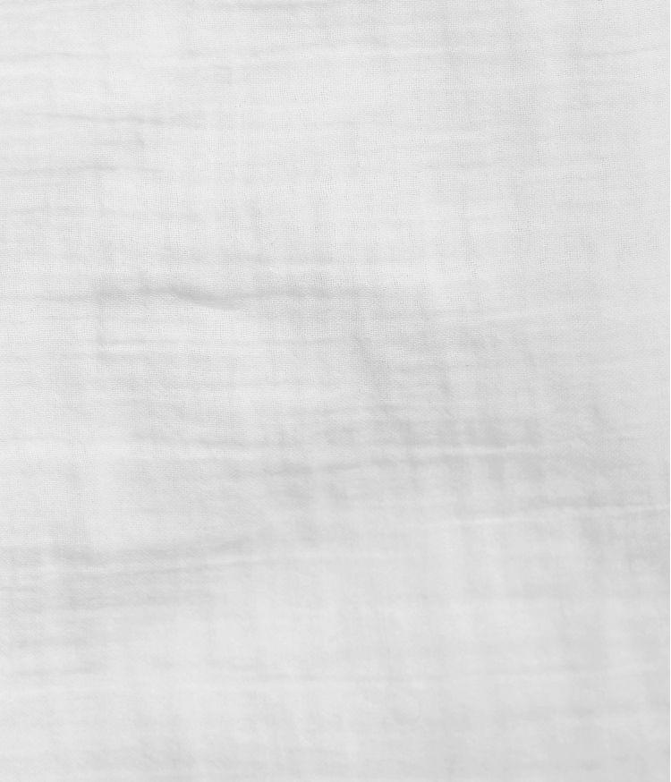 Taie d'édredon 85 x 200 cm en Voile de coton - Blanc