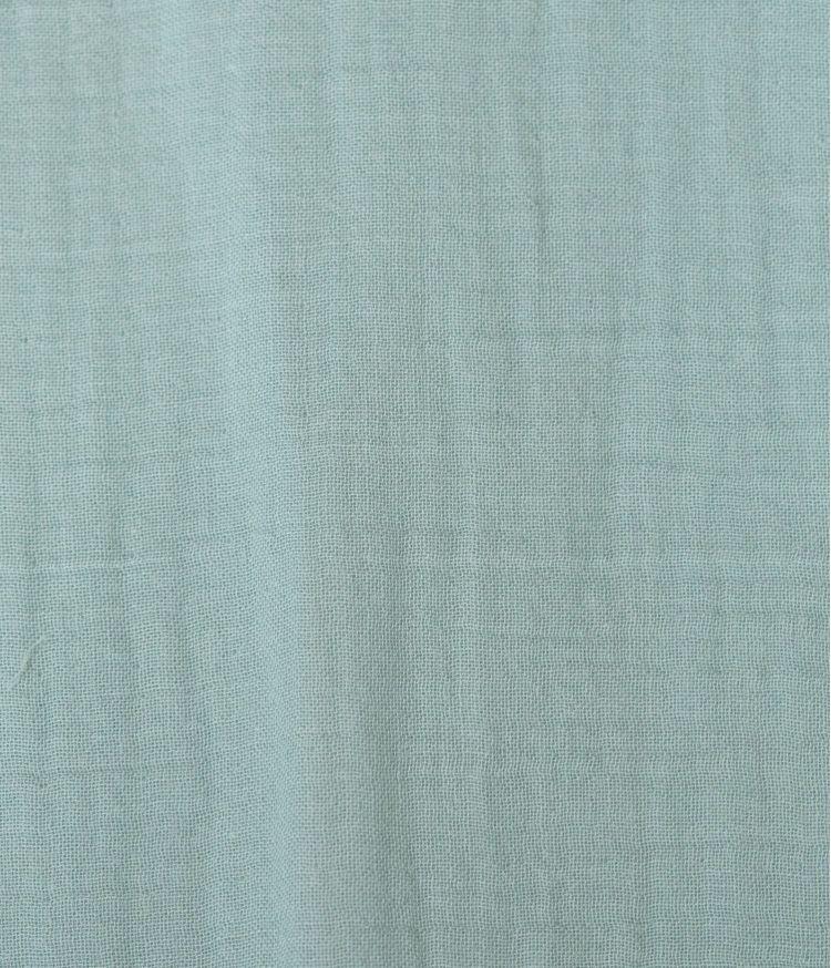 Taie d'édredon 85 x 200 cm en Voile de coton - Céladon
