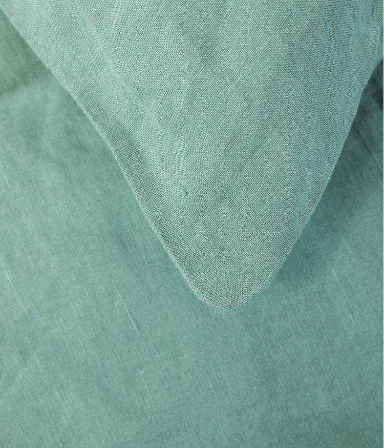 housse coussin 55*110 celadon