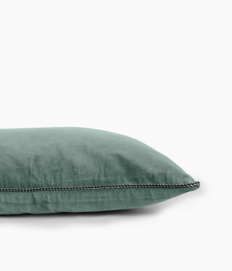 Housse de coussin 40 x 60 cm en Velours - Celadon