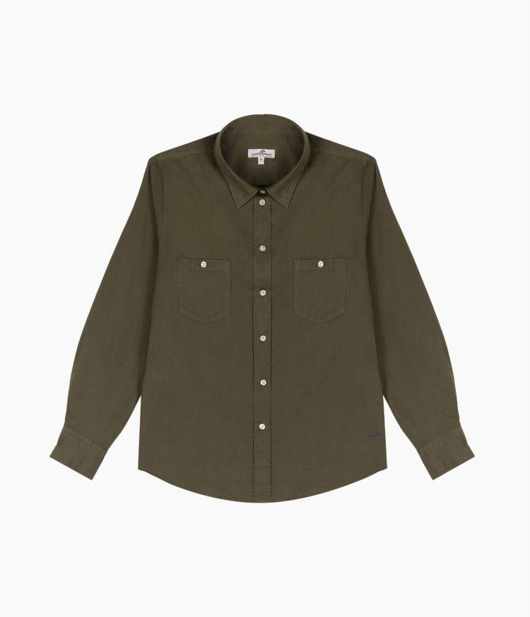 chemise voile de coton azalee 2 poche