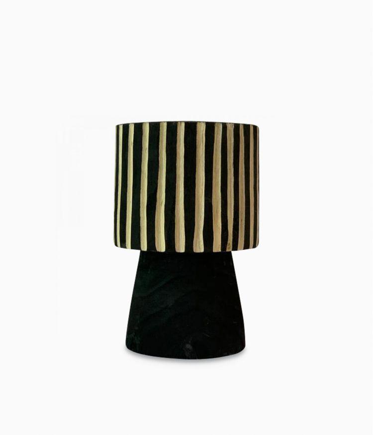 vase aya rayure d19h30