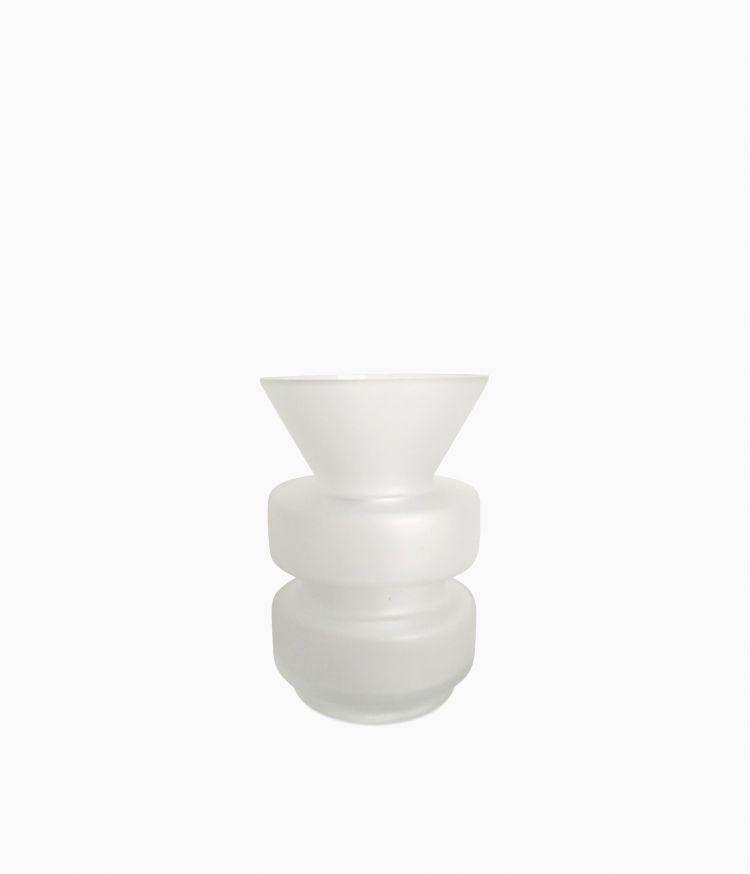 vase blanc satine 914