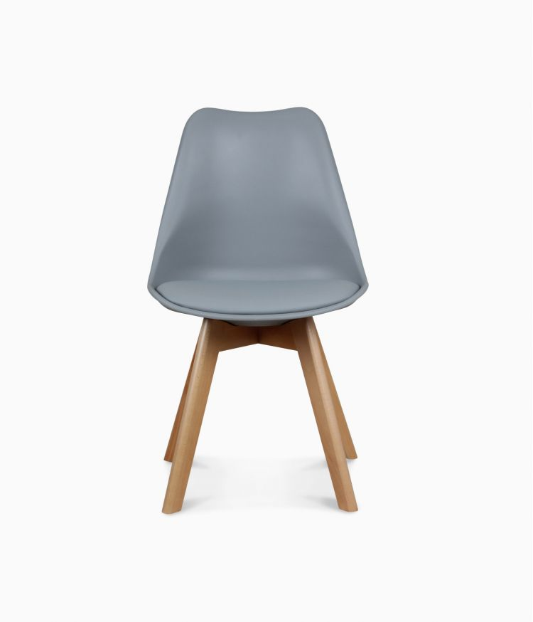 Chaise design scandinave - Grise
