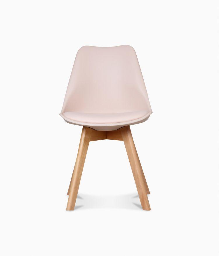 Chaise design scandinave - Blush