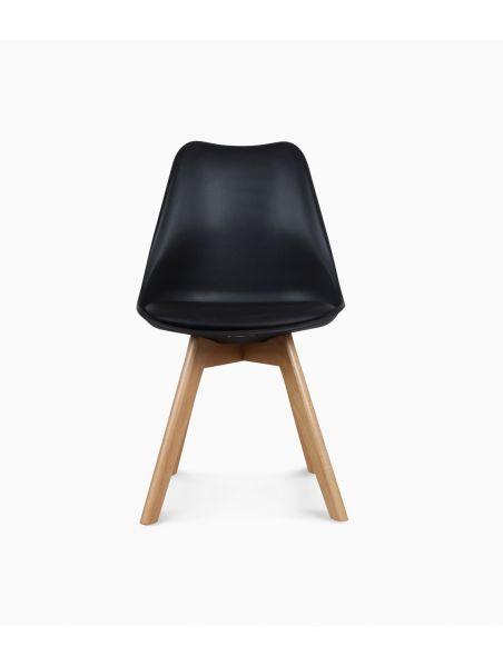 Chaise design scandinave - Noire
