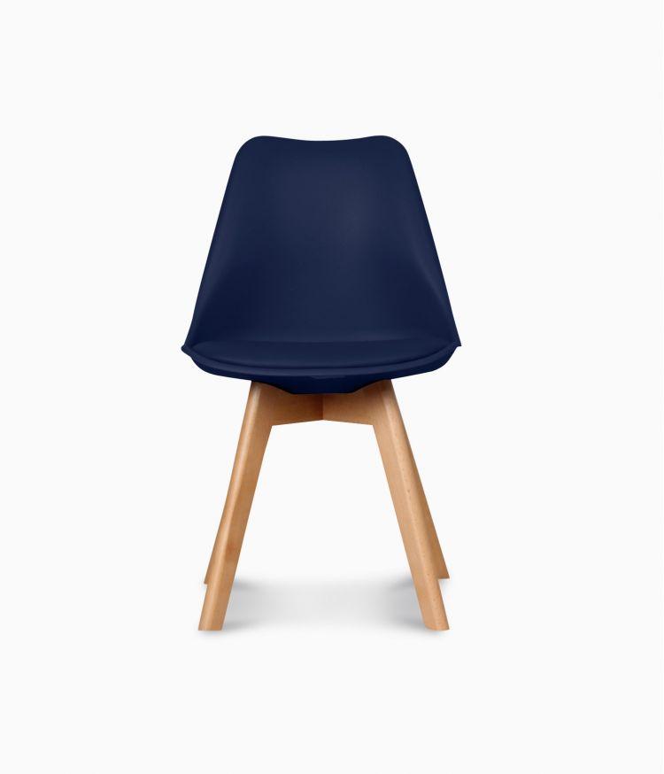 Chaise design scandinave - Navy