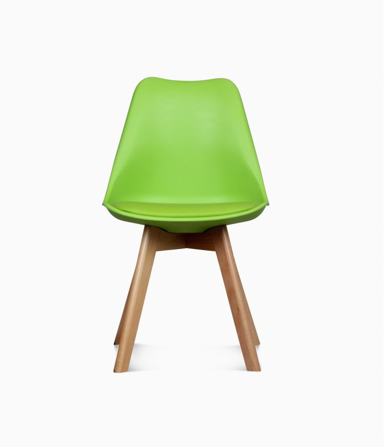 Chaise design scandinave - Verte