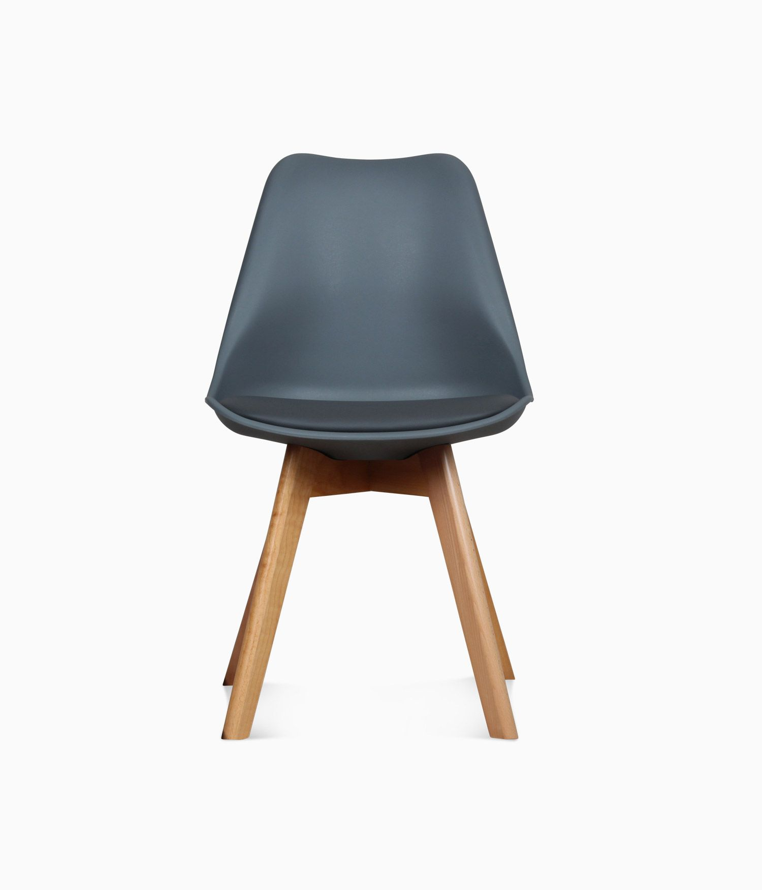 Chaise design scandinave - Anthracite