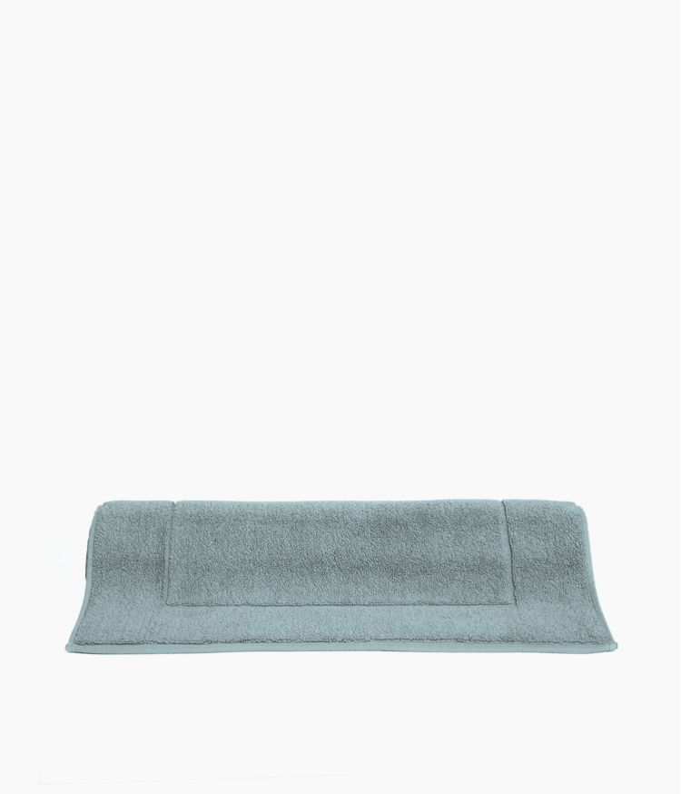 tapis de bain 50*85 bleu stone
