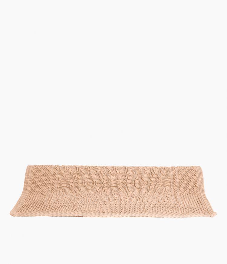 tapis de bain 55*110 nude