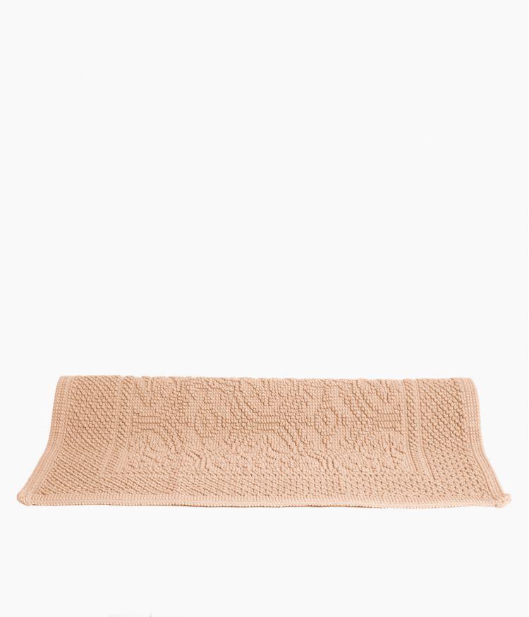 tapis de bain 60*60 nude