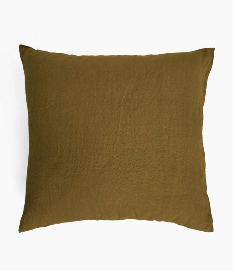 taie oreiller 65*65 bronze